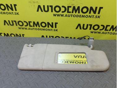 3B0857552AK 3B0857552R - Pravá clonka - VW Škoda Seat