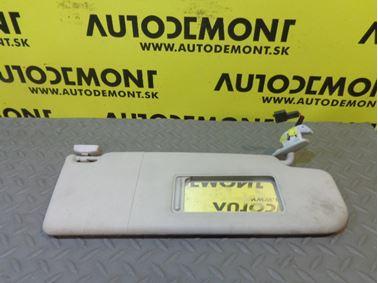 3B0857552R 3B0857552AK - Pravá clonka - VW Škoda Seat