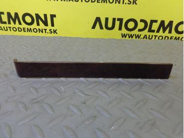 Ozdobná lišta stredového panelu 4B0863209N - Audi A6 C5 4B 2003 Avant Quattro 2.5 TDI 132 kW AKE