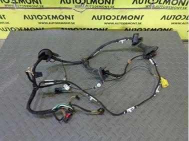 Elektroinštalácia - kabeláž ľavých predných dverí 4F1971029C 4F1971029AF - Audi A6 C6 4F 2005 Sedan Quattro 3.0 TDI 165 kW BMK GZW