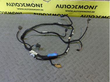 Elektroinštalácia - kabeláž ľavých predných dverí 4F1971035C 4F1971035N - Audi A6 C6 4F 2005 Sedan Quattro 3.0 TDI 165 kW BMK GZW