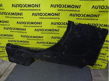3B9864512E - Pravý kryt podlahy kufra - VW Passat Variant 1997 - 2005