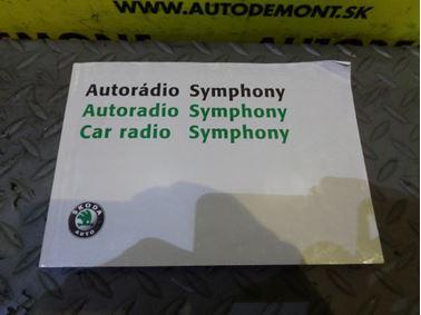 - Návod na obsluhu Autorádia Symphony - Škoda