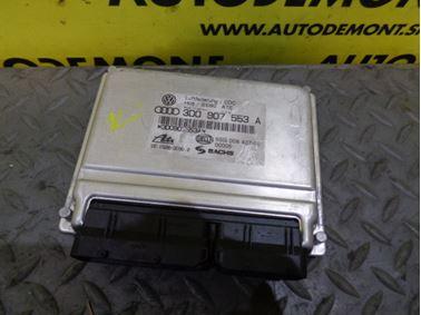 Riadiaca jednotka vzduchového podvozku 3D0907553A - Volkswagen VW Phaeton 3D 2003 Sedan 3.2 177 kW AYT GDE