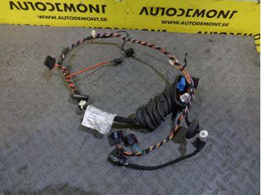 Elektroinštalácia - kabeláž ľavých predných dverí 6Q0971121 6Y0971121P - Škoda Fabia 1 6Y 2002 Combi 1.9 Sdi 47 kW ASY