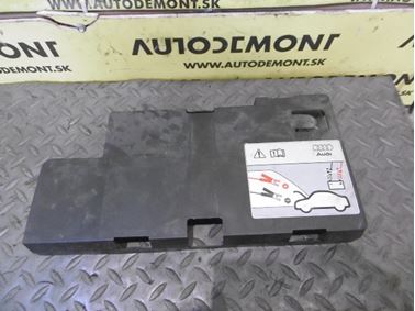 Kryt baterky 4F0915429C - Audi A6 C6 4F 2008 Avant Quattro S - Line 3.0 Tdi 171 kW ASB KGX