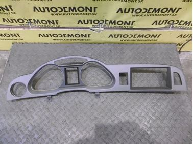 Kryt okolo budíkov 4F1857115D 4F1857115B - Audi A6 C6 4F 2006 Avant Quattro 3.0 TDI 165 kW BMK HVE