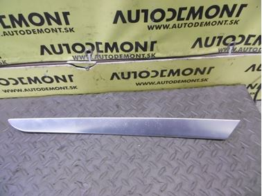 Ľavá predná vnútorná ozdobná lišta dverí 4F0867409A 4F0867409 - Audi A6 C6 4F 2006 Avant Quattro 3.0 TDI 165 kW BMK HVE