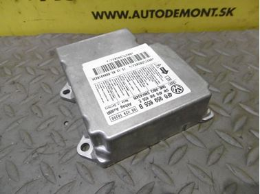 Riadiaca jednotka airbagov 4F0959655B 4F0910655E 5WK43416 - Audi A6 C6 4F 2006 Avant Quattro 3.0 TDI 165 kW BMK HVE