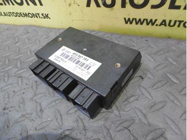 Riadiaca jednotka prívesu 4F0907383 4F0910383 - Audi A6 C6 4F 2006 Avant Quattro 3.0 TDI 165 kW BMK HVE