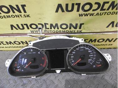 Prístrojový panel - budíky 4F0920931F 4F0920931FX 4F0910930A - Audi A6 C6 4F 2006 Avant Quattro 3.0 TDI 165 kW BMK HVE