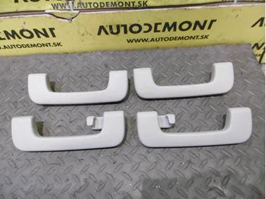 Strešné madlá 8P0857607D 8P0857607C 8P0857608A - Audi A6 C6 4F 2006 Avant Quattro 3.0 TDI 165 kW BMK HVE
