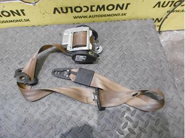 Pravý predný bezpečnostný pás 4F0857706 - Audi A6 C6 4F 2006 Avant Quattro 3.0 TDI 165 kW BMK HVE