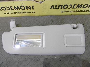 Ľavá clonka 4F0857551K 4F0857551L - Audi A6 C6 4F 2006 Avant Quattro 3.0 TDI 165 kW BMK HVE