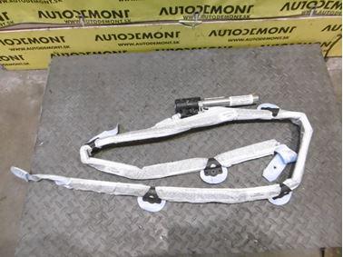 Ľavý hlavový airbag 4F9880741A - Audi A6 C6 4F 2006 Avant Quattro 3.0 TDI 165 kW BMK HVE
