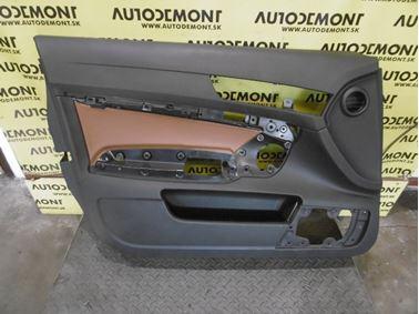 Ľavý predný tapacír dverí 4F1867105A 4F2867105A - Audi A6 C6 4F 2006 Avant Quattro 3.0 TDI 165 kW BMK HVE
