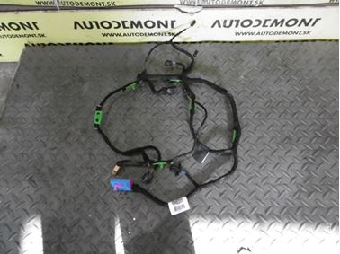 Elektroinštalácia - kabeláž ľavých predných dverí 4F1971035L 4F1971035N - Audi A6 C6 4F 2006 Avant Quattro 3.0 TDI 165 kW BMK HVE
