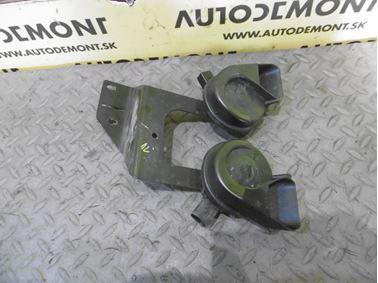 Trúby - Klaksóny 4F0951221 4F0951223 4F0951229 - Audi A6 C6 4F 2006 Avant Quattro 3.0 TDI 165 kW BMK HVE