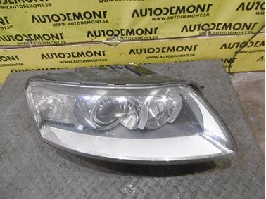 Pravé predné svetlo 4F0941030AK 4E0941471 1K6953123D 4F0941293A - Audi A6 C6 4F 2006 Avant Quattro 3.0 TDI 165 kW BMK HVE