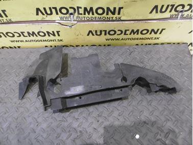 Ľavý kryt chladičov - Vedenie vzduchu 4F0121283 - Audi A6 C6 4F 2006 Avant Quattro 3.0 TDI 165 kW BMK HVE