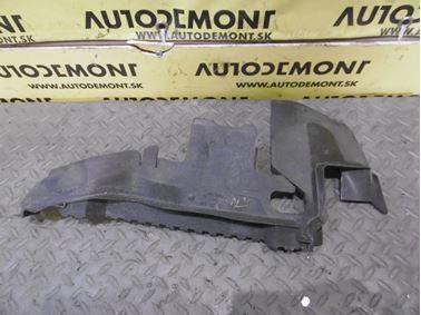 Pravý kryt chladičov - Vedenie vzduchu 4F0121284 4F0121284AS - Audi A6 C6 4F 2006 Avant Quattro 3.0 TDI 165 kW BMK HVE