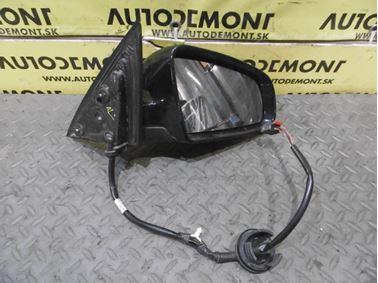 Pravé spätné zrkadlo 4F1858532M - Audi A6 C6 4F 2006 Avant Quattro 3.0 TDI 165 kW BMK HVE