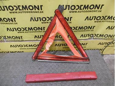 Výstražný trojuholník 7L0860251 - Audi A6 C6 4F 2006 Avant Quattro 3.0 TDI 165 kW BMK HVE
