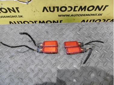 Varovné dverové svetlá 8D0947411 - Audi A6 C6 4F 2006 Avant Quattro 3.0 TDI 165 kW BMK HVE