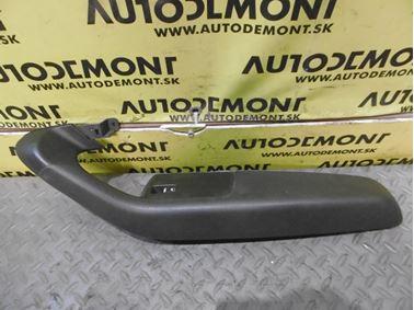 Pravé predné madlo dverí 4F1867106A 4F2867106A 4F0959855 - Audi A6 C6 4F 2006 Avant Quattro 3.0 TDI 165 kW BMK HVE