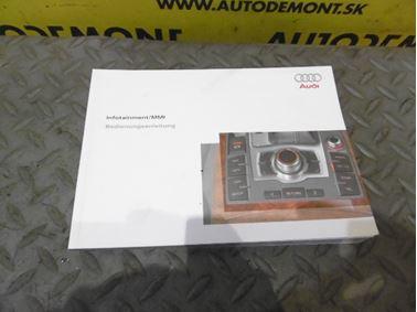 Návod na obsluhu MMI / Bedienungsanleitung 4F0 4F - Audi A6 C6 4F 2006 Avant Quattro 3.0 TDI 165 kW BMK HVE