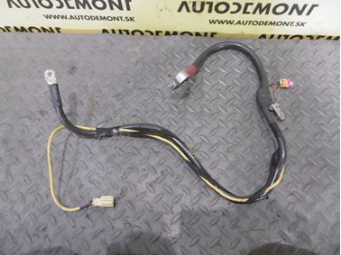 Plusový kábel baterky 4F0971225F 4E0972576 1T0971613 - Audi A6 C6 4F 2006 Avant Quattro 3.0 TDI 165 kW BMK HVE