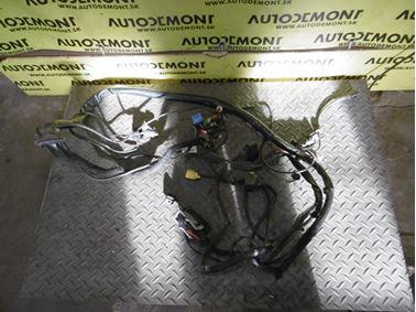 Elektroinštalácia - kabeláž pre ABS senzor a opotrebenie brzdových platničiek s elektroinštaláciou ľavého predného svetlometu 4F0972251 4F1971075BS - Audi A6 C6 4F 2006 Avant Quattro 3.0 TDI 165 kW BMK HVE