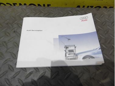 Servisná knižka / Audi Serviceplan  - Audi A6 C6 4F 2006 Avant Quattro 3.0 TDI 165 kW BMK HVE