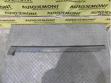 4A0839477 - Ľavé zadné tesnenie okna - Audi 100 1991 - 1994 A6 1995 - 1997