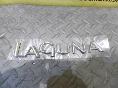 Nápis Laguna  - Renault Laguna II 2003 Grandtour 1.9 dCi F9Q 88 kW