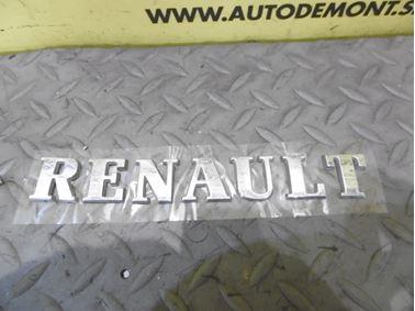 Nápis Renault  - Renault Laguna II 2001  1.8i 16V 88 kW