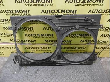 Držiak ventilátorov 1J0121207M 1J0121205B - Škoda Octavia 1 1U 2002 Sedan Elegance 1.9 Tdi 81 kW ASV EGS