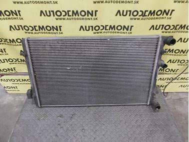 Chladič vody 1J0121253AD 1J0121253AT 1J0121253N - Škoda Octavia 1 1U 2002 Sedan Elegance 1.9 Tdi 81 kW ASV EGS
