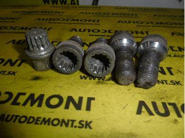 - Bezpečnostné skrutky - Sada VW Audi Škoda