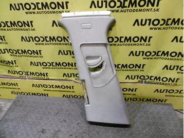 Ľavý tapacír B - stĺpika 4F0867293A 4F0867243A - Audi A6 C6 4F 2008 Avant Quattro S - Line 3.0 Tdi 171 kW ASB KGX