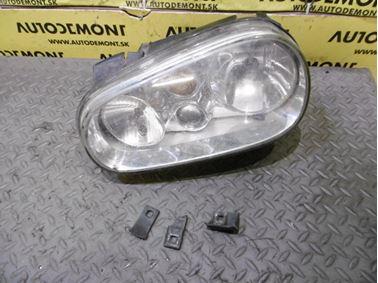 1J1941017C 1J1941017K 1J1941607C - Ľavé predné svetlo - VW Golf 4 1998 - 2006