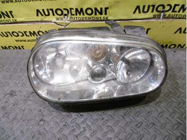 1J1941018C 1J1941018K 1J1941607C - Pravé predné svetlo - VW Golf 4 1998 - 2006