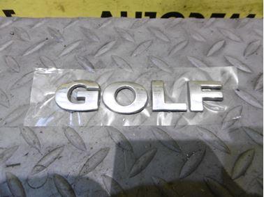 - Nápis Golf - VW Golf 4 1998 - 2006